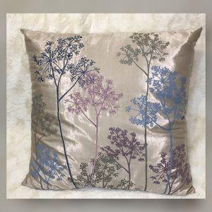 HomeGoods Floral Decorative Pillow